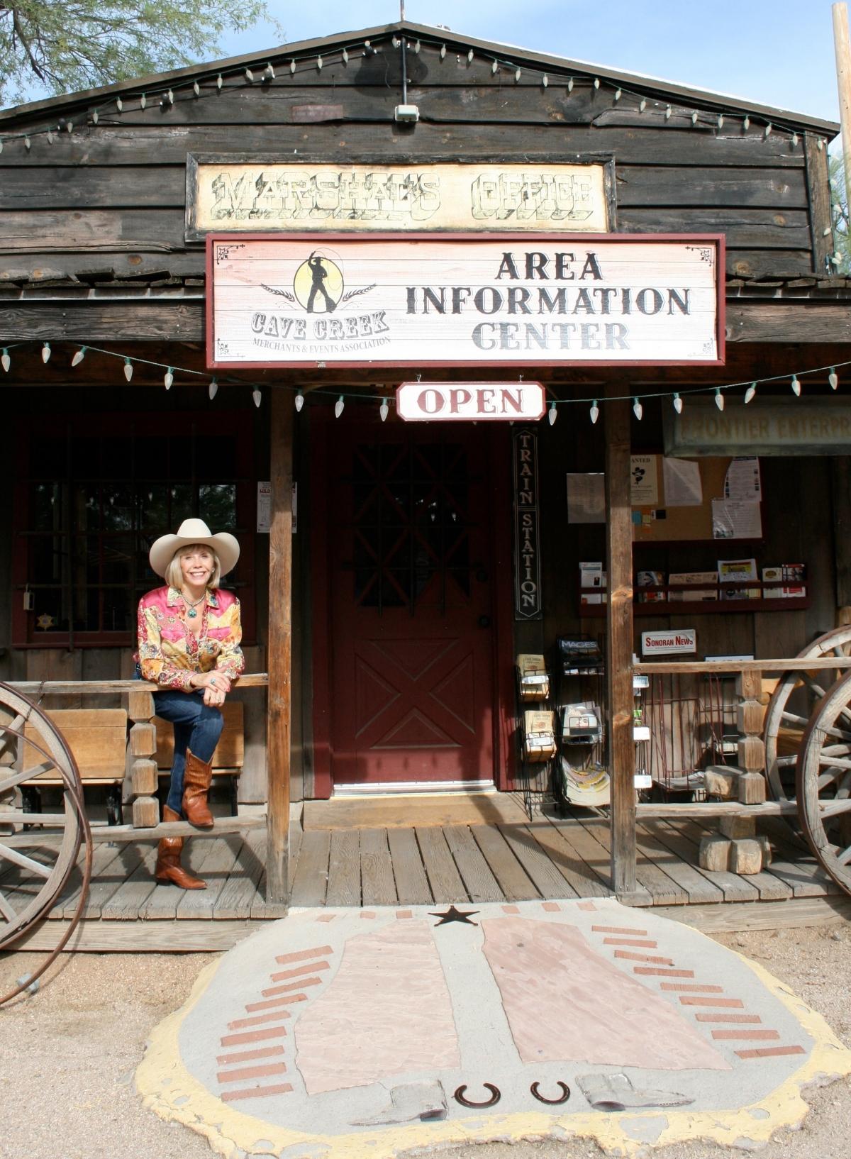 Cave Creek Merchants - Info Center - in Frontier Town